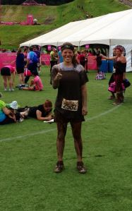 That's me, post-mud run!