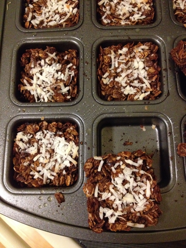 Coconut Almond Granola Bars!
