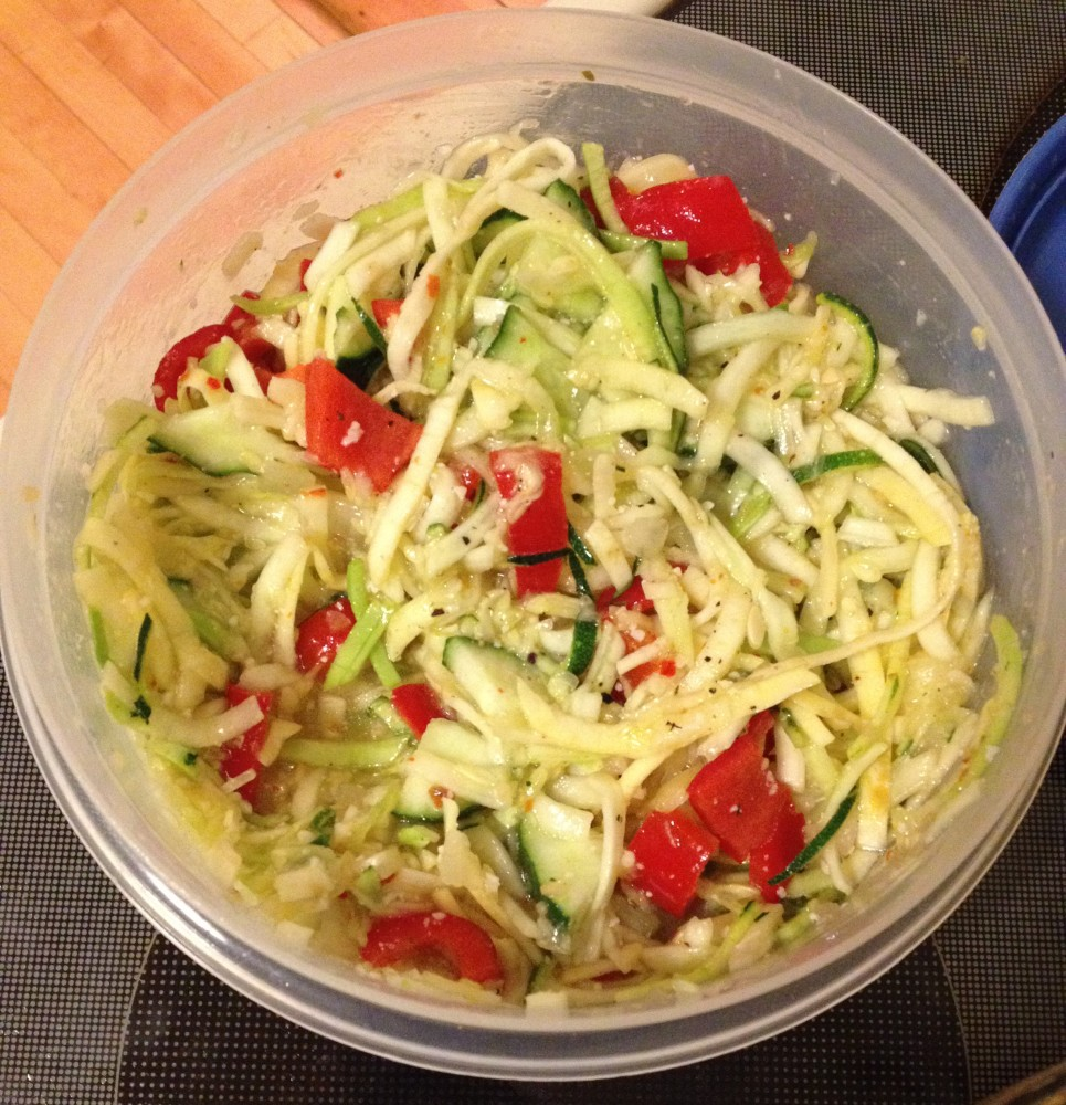 Two Recipes with Zucchini and Squash