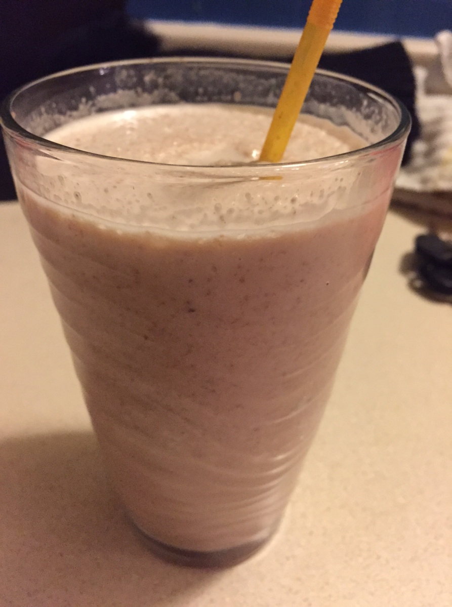 Cookies and Cream Protein Shake!