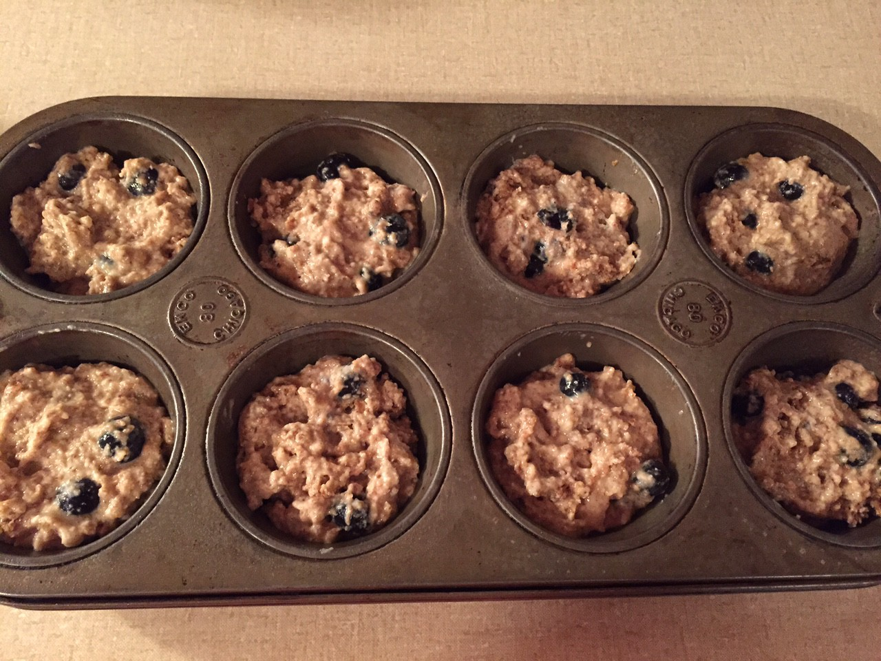Blueberry Almond Bran Muffins – Sequins and Sushi